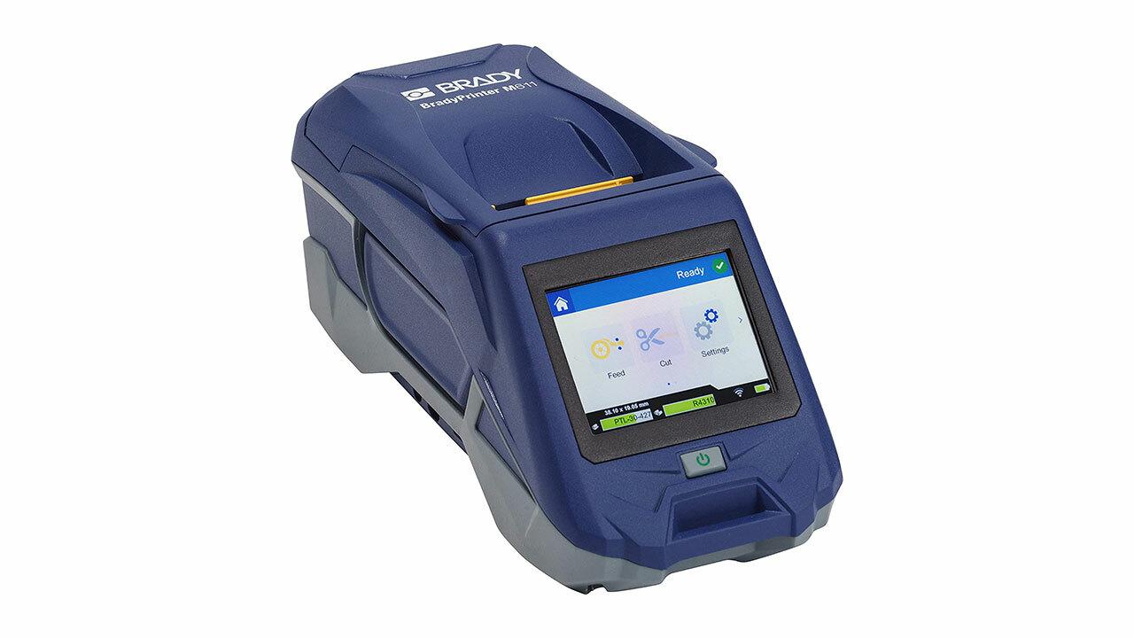 Панель управления мобильного принтера этикеток BradyPrinter M611