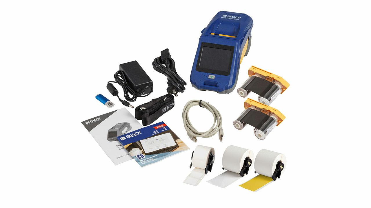Комплект принадлежностей для мобильного принтера этикеток BradyPrinter M611