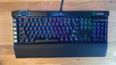 Изображение игровой клавиатуры Corsair K100 RGB