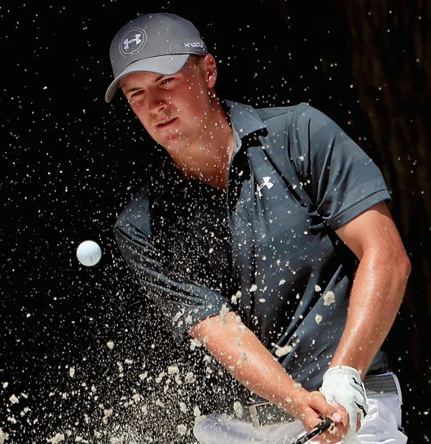 Spieth scrambles to success