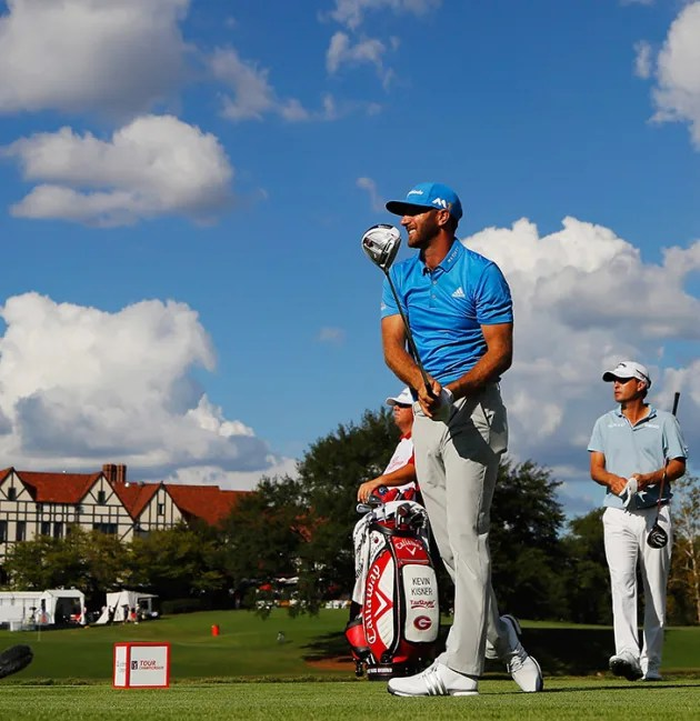 DJ holds one-stroke lead after Rd. 2