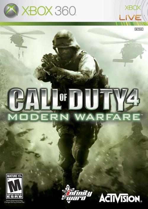 Call Of Duty 4 Modern Warfare PAL XBOX360-GAC