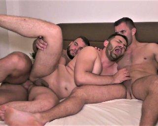 Ass Invaders: David Lee, Javi Garcia, Jerome