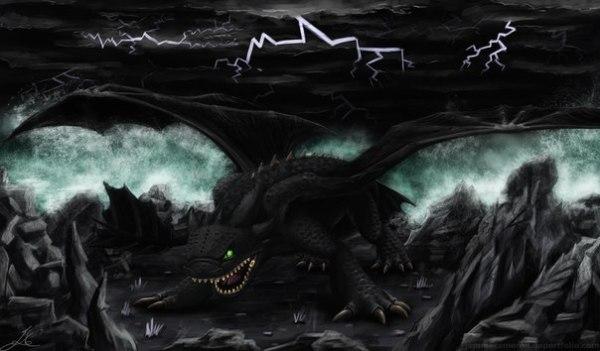 Злая Ночная Фурия Галерея картинки пользователей
