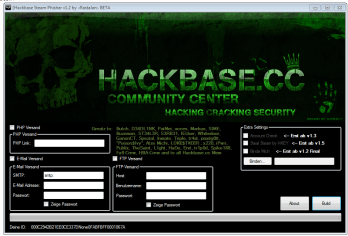 Hackbase Steam Phisher 1.2 BETA