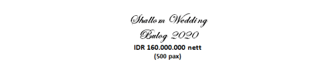 paket pernikahan jakarta lengkap di bulog murah dengan vendor berpengalaman