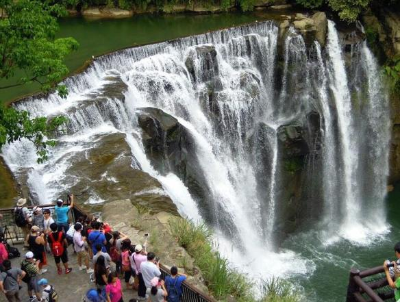air terjun Shifen Waterfall Taiwan