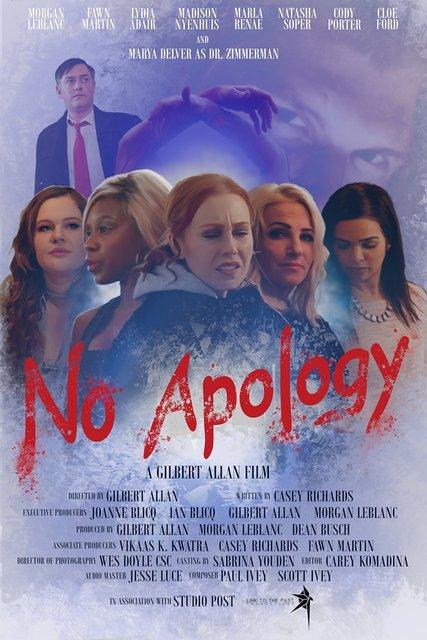 No Apology 2020 Movie Poster