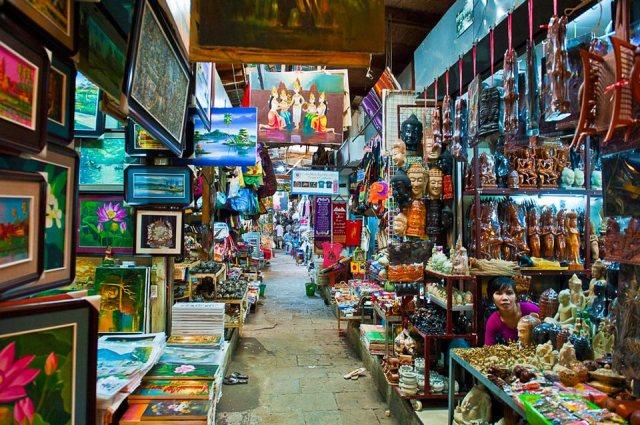 russian market di phnom penh