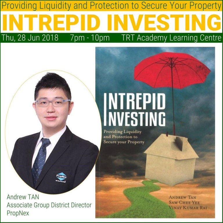 28 June 2018 – Intrepid Investing: Providing Liquidity and Protection to Secure Your Property