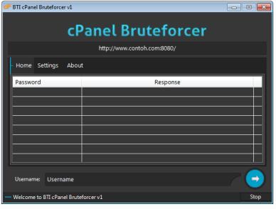 Cpanel Bruteforcer v1