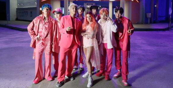 boy with luv bts halsey