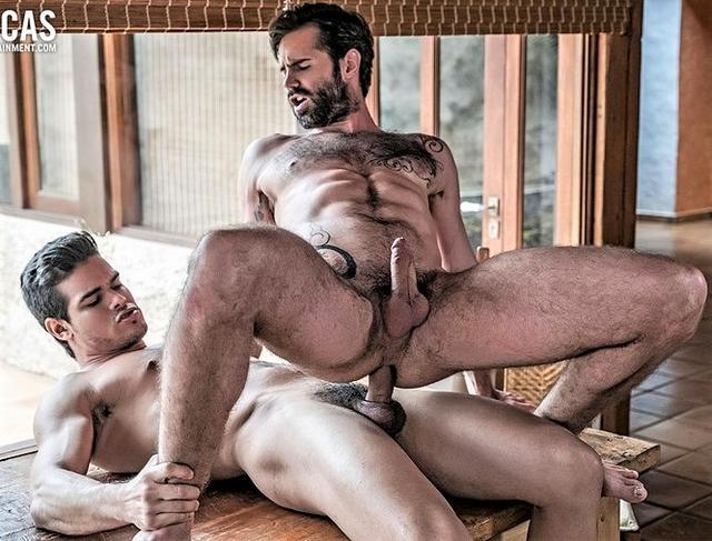 Dani Robles Bottoms Bareback For Rico Marlon