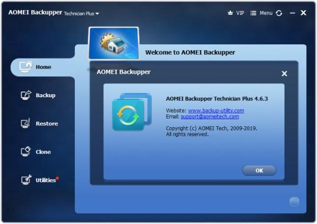 Imageergebnis für AOMEI Backupper 4.6.3