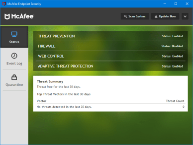 McAfee Endpoint Security 10.7.0.977.20 + Crack License