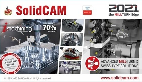 SolidCAM 2020 SP5 for SolidWorks 2012-2021 (x64)
