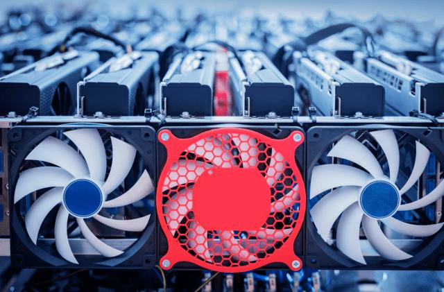 Mesin perlombongan bitcoin