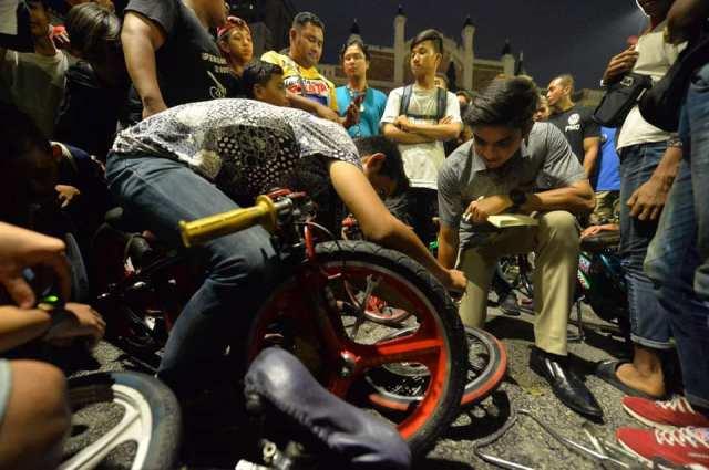 program bersama remaja basikal lajak