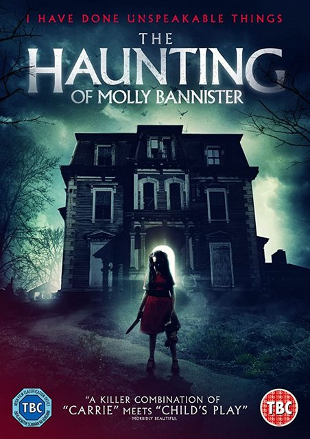 The Hauting Of Molly Bannister 2020 Movie Poster