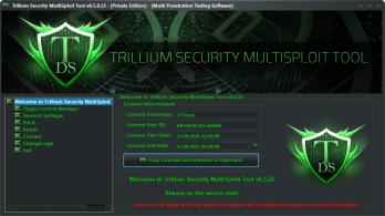 Trillium Security MultiSploit Tool v6.5.21 Full