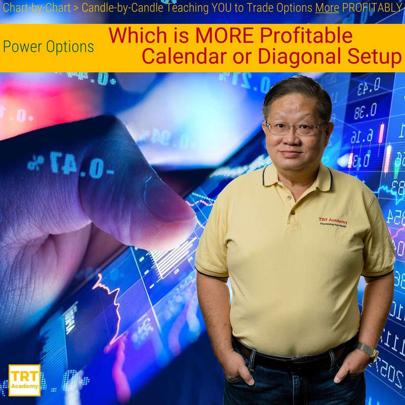 Yes… I Want to Improve My Trading Results – 2018-02 – Power Options – Which is MORE Profitable: Calendar or Diagonal Setup