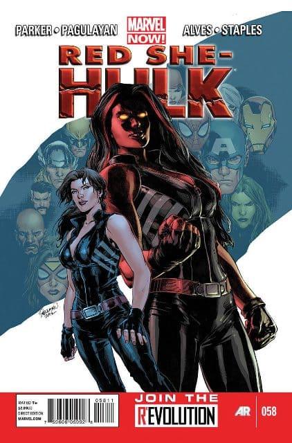 Red She Hulk Volumen 1 [10/10] Español   Mega
