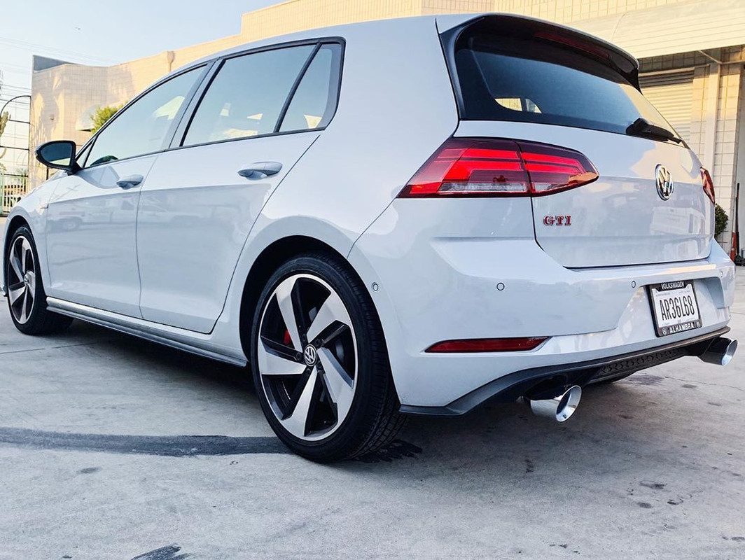 awe exhaust suite for the mk7 5 gti 2 0