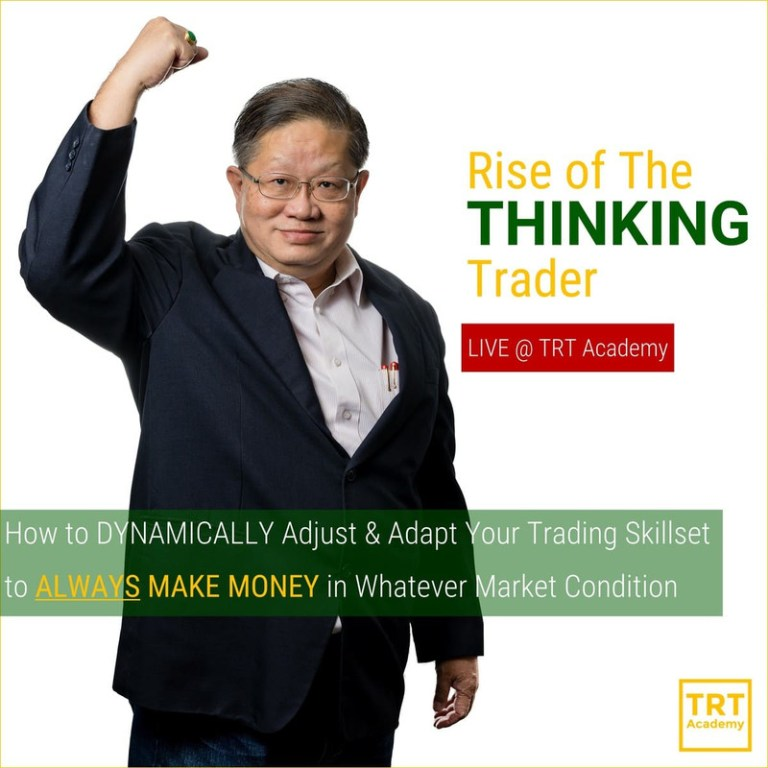 19 January – [LIVE Seminar @ TRT Academy]  Rise of The THINKING Trader