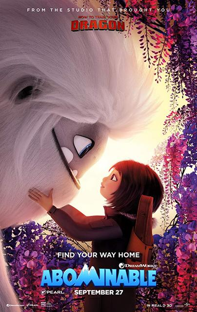 Abominable 2019 Movie Poster
