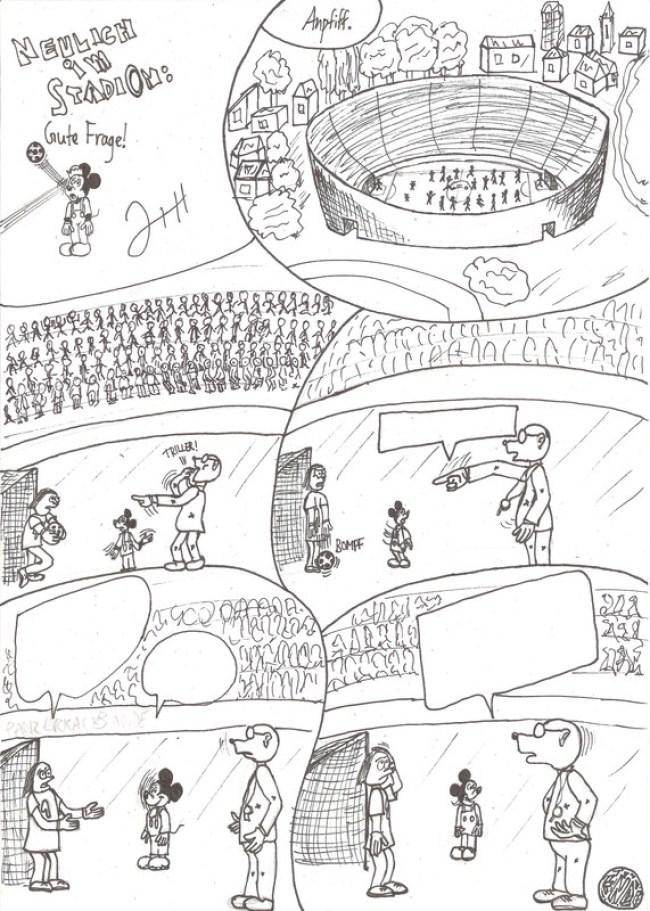 Hinter den Kulissen: Von Fußball und Fundstücken 11