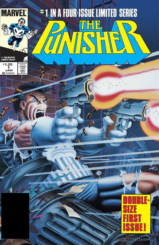 Punisher volumen 1 [5/5] Español | Mega