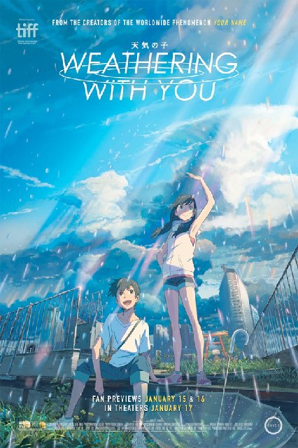 Weathering with You 2020 Movie Poster