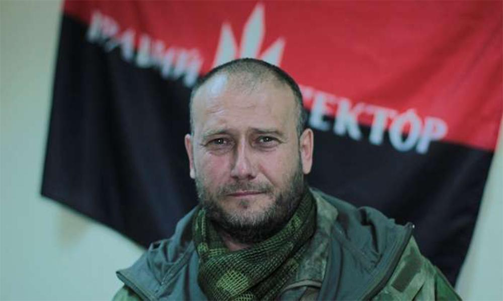 """Dmitrij Jaros, a """"Jobb Szektor"""" korábbi vezére"""