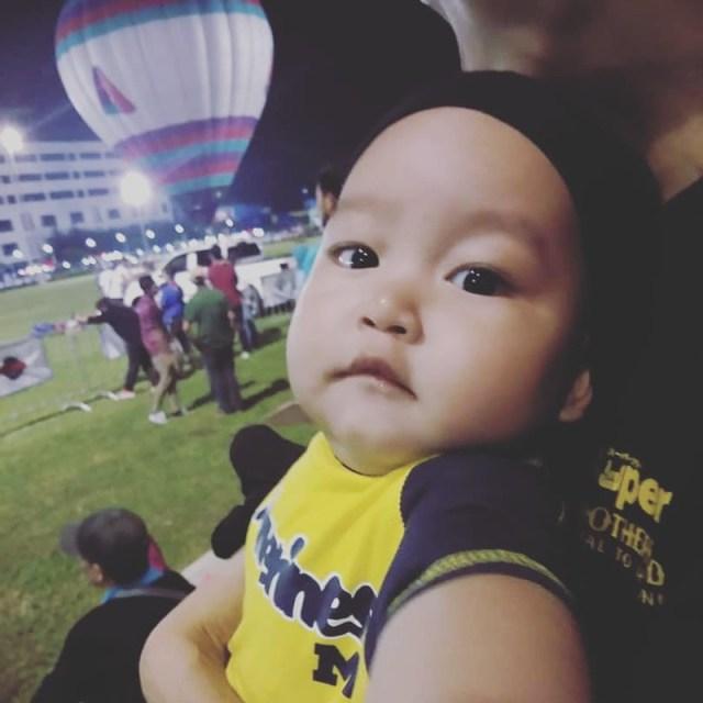 Bayi Lelaki berusia tujuh bulan