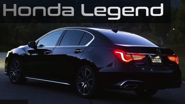 Honda's Legend sedan, The level-3 autonomous driving technology