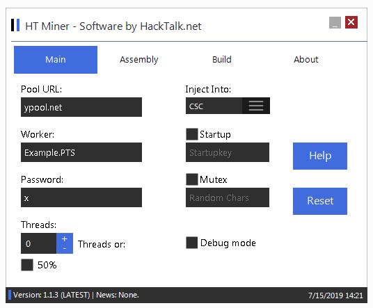 hMinerPTS  Bitcoin Miner