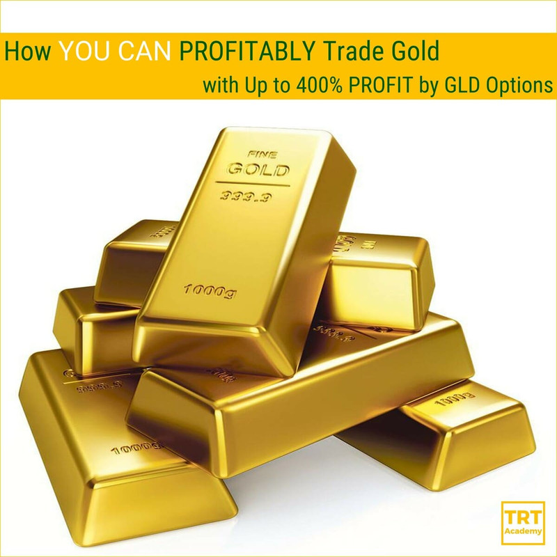 Yes… I Want to Improve My Trading Results – 2018-03 – How YOU CAN PROFITABLY Trade Gold with Up to 400% PROFIT by GLD Options