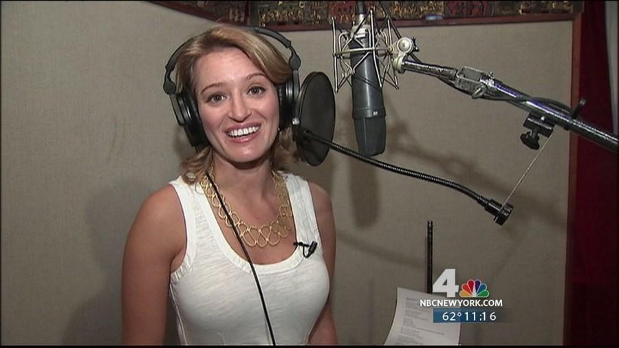 Katy Tur as a news anchor