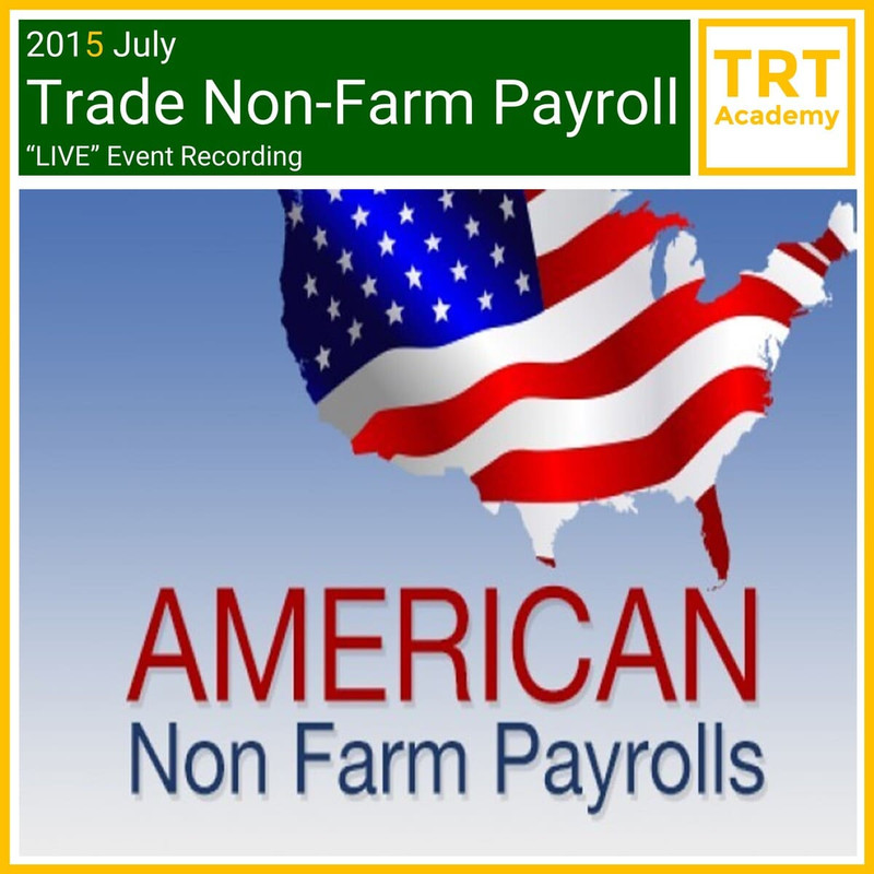 """Yes! Send Me the Video – 2015 July Trade Non-Farm Payroll """"LIVE"""" Market Learning"""