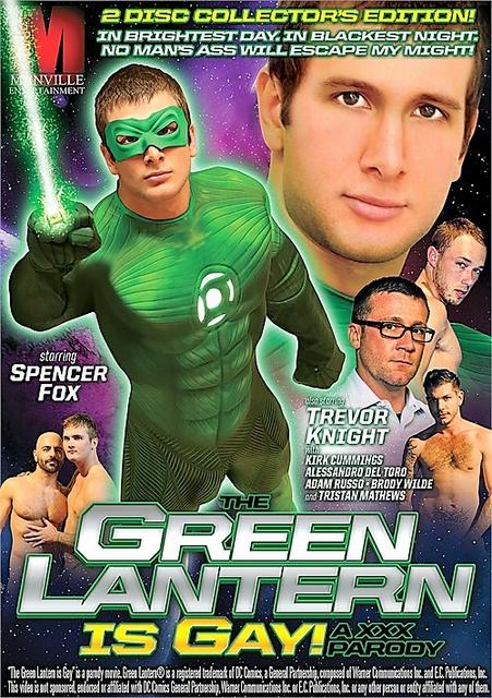 Green Lantern Is Gay!