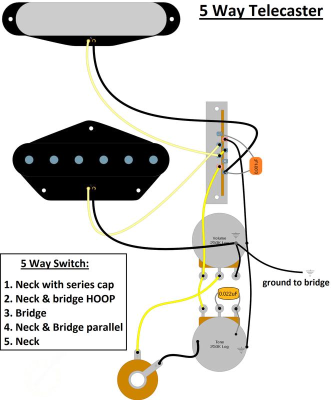 5 way telecaster wiring  six string supplies