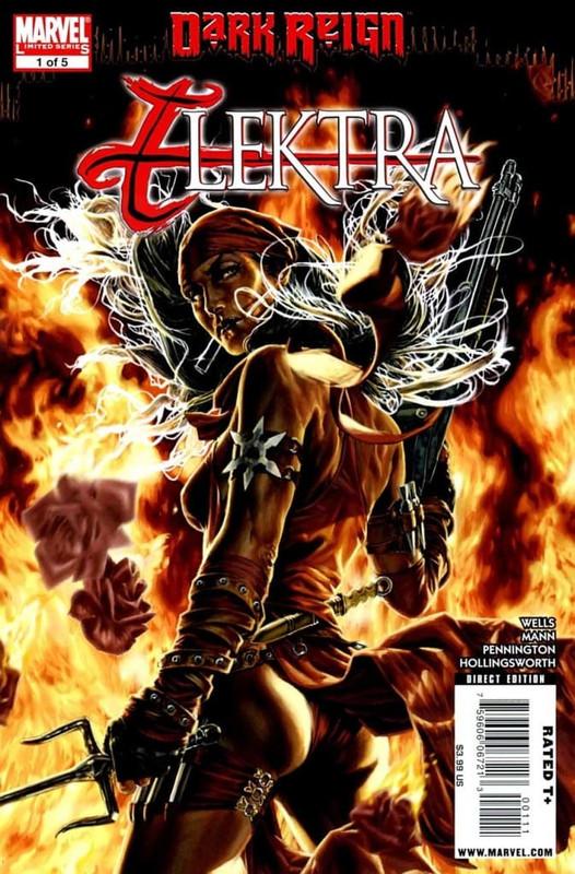 Dark Reign Elektra [5/5] Español   Mega
