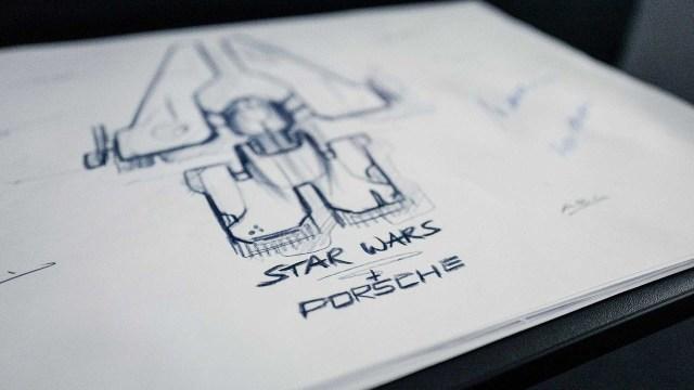 Porsche dalam Star Wars