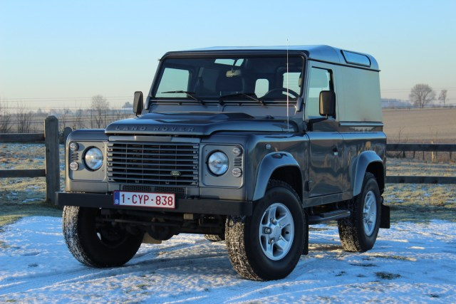 Land Rover Defender authentic