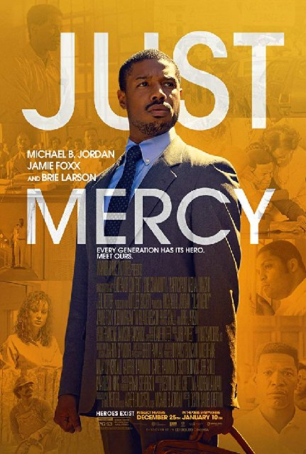 Just Mercy 2020 Movie Poster