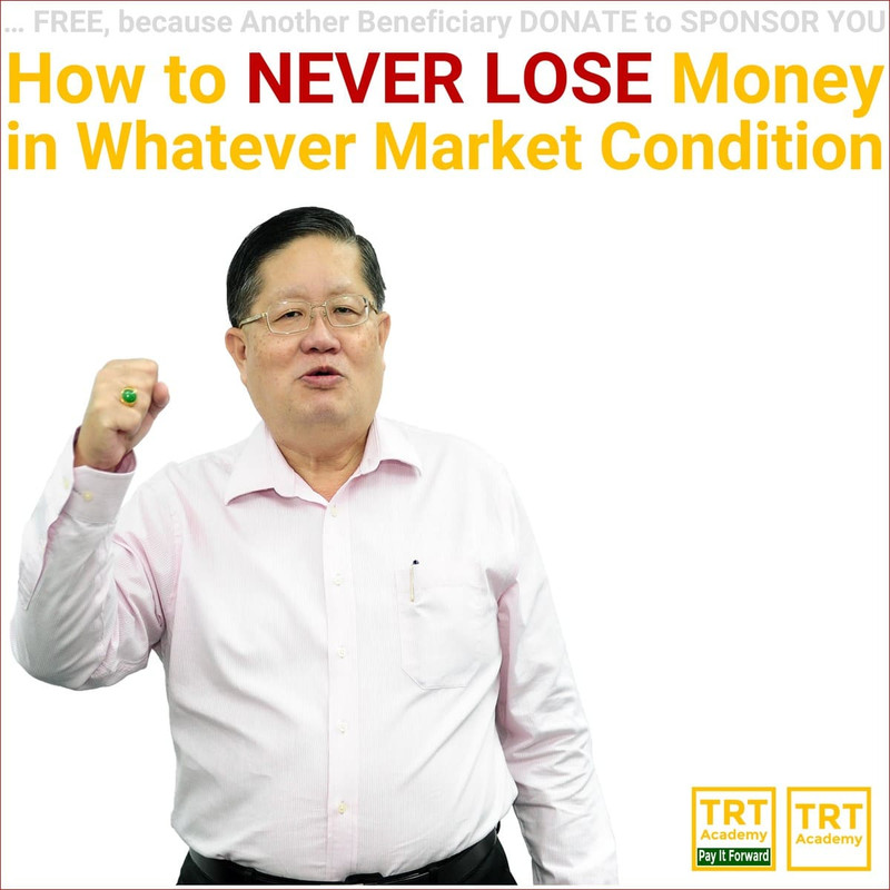 Yes! Send Me the Video – How to NEVER LOSE Money in Whatever Market Condition