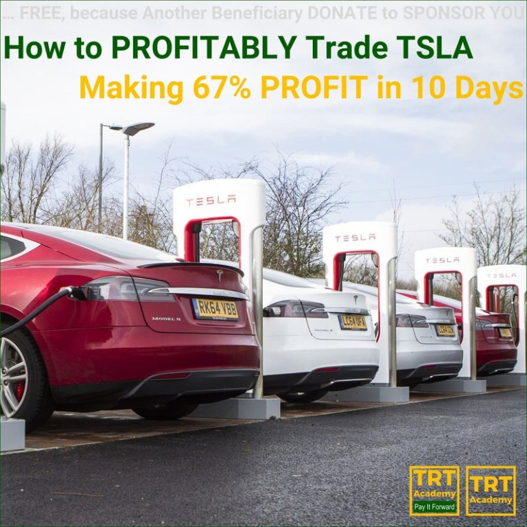 Yes… I Want to Improve My Trading Results – 2018-08 – How to PROFITABLY Trade TSLA – Making 67% PROFIT in 10 Days