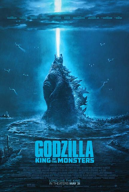 Godzilla King of the Monsters 2019 Movie Poster