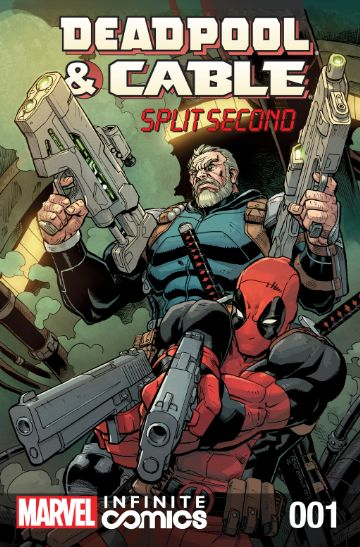 Deadpool & Cable Split Second [6/6] Español