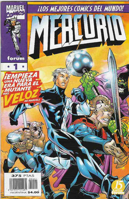 Quicksilver Volumen 1 [13/13] Español | MG